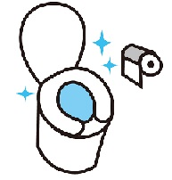 シンプル トイレ