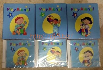 プレイアロング DVD CD
