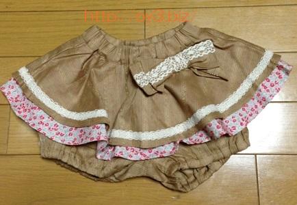 パンツ付きスカート